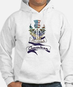 Scottish American Thistle Hoodie