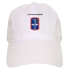 SSI - 172nd Infantry Brigade with Text Baseball Cap