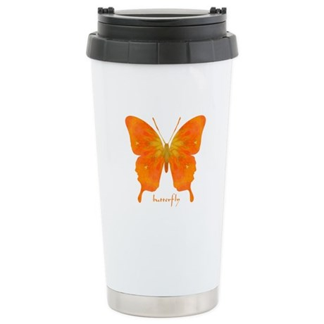 Rapture Butterfly Stainless Steel Travel Mug