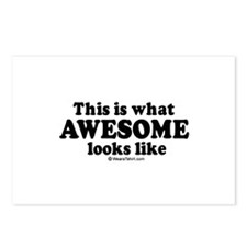 This is what awesome looks like ~  Postcards (Pack