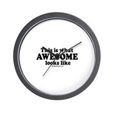 This is what awesome looks like ~  Wall Clock