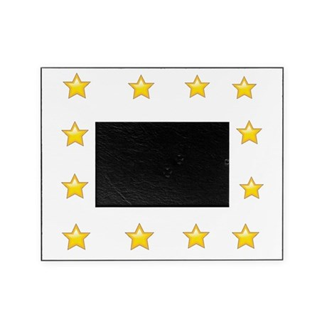 Star Power Gold Picture Frame