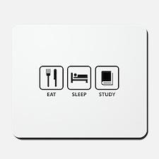 Eat Sleep Study Mousepad