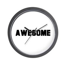 Awesome -  Wall Clock