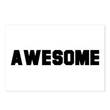 Awesome -  Postcards (Package of 8)