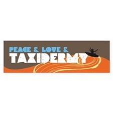 Taxidermy Bumper Bumper Sticker