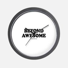 Beyond Awesome -  Wall Clock