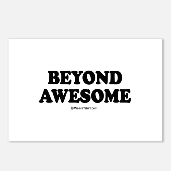 Beyond Awesome -  Postcards (Package of 8)