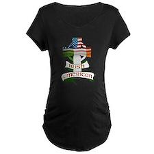 Irish American Celtic Cross T-Shirt