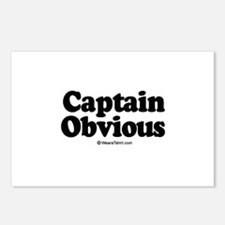 Captain Obvious -  Postcards (Package of 8)