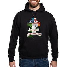 Irish American Celtic Cross Hoodie