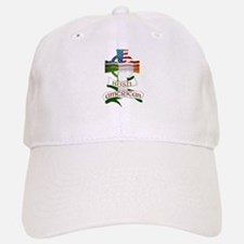 Irish American Celtic Cross Baseball Baseball Cap