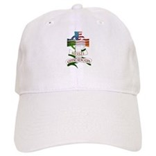 Irish American Celtic Cross Baseball Cap