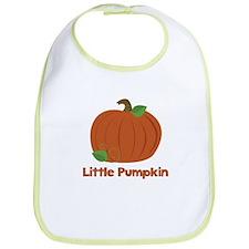 Little Pumpkin Halloween Bib