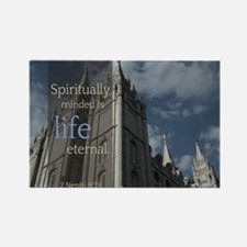 LDS Quotes- Spiritually Minded is Life Eternal Rec