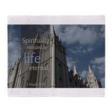 LDS Quotes- Spiritually Minded is Life Eternal St
