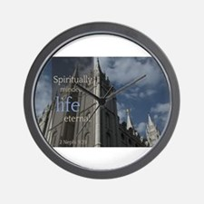 LDS Quotes- Spiritually Minded is Life Eternal Wal