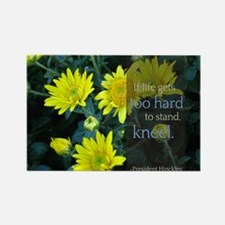 LDS Quotes- If life gets too hard to stand... Rect