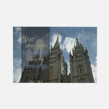 LDS Quotes- For after much tribulation come the bl