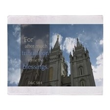 LDS Quotes- For after much tribulation come the b
