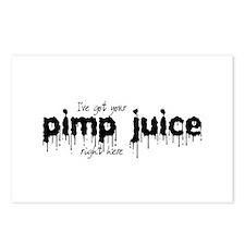 Pimp Juice -  Postcards (Package of 8)