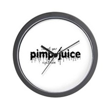 Pimp Juice -  Wall Clock