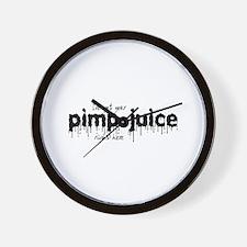 Pimp Juice -  Wall Clock