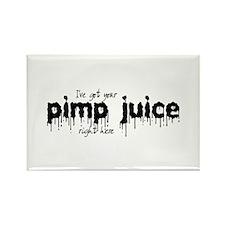 Pimp Juice - Rectangle Magnet