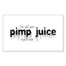 Pimp Juice - Rectangle Decal