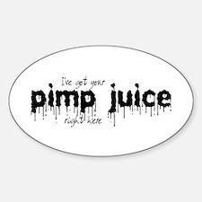 Pimp Juice - Oval Decal