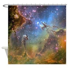 Eagle Nebula (High Res) Shower Curtain