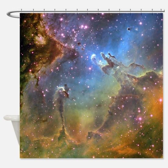 Eagle Nebula (High Res) Shower Curtain