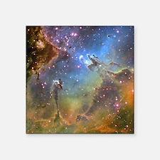"Eagle Nebula (High Res) Square Sticker 3"" x 3"""