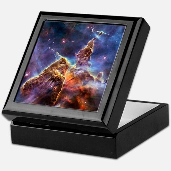 Carina Nebula (High Res) Keepsake Box