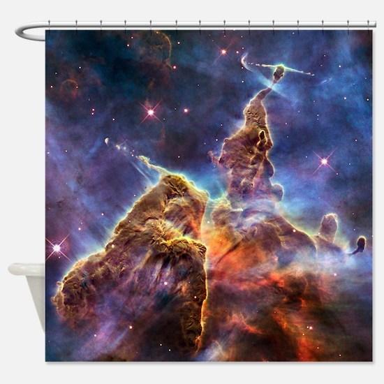 Carina Nebula (High Res) Shower Curtain