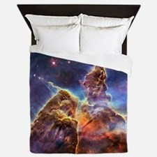 Carina Nebula (High Res) Queen Duvet
