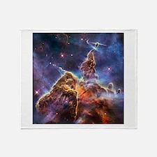 Carina Nebula (High Res) Throw Blanket