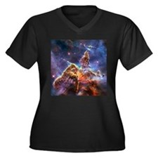 Carina Nebula (High Res) Women's Plus Size V-Neck