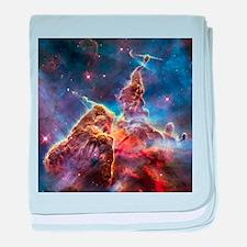 Carina Nebula (High Res) baby blanket