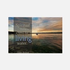 LDS Quotes- Spiritual thirst is a need for living