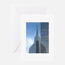 LDS Quotes- That He Lives! Greeting Card