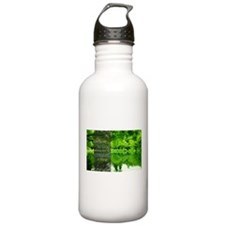 LDS Quotes- Believe in God Water Bottle