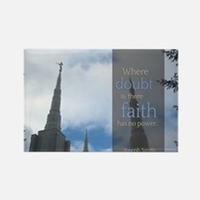 LDS Quotes- Where doubt is, there faith has no pow