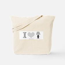 I heart Lamp -  Tote Bag