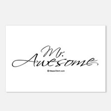 Mr. Awesome -  Postcards (Package of 8)