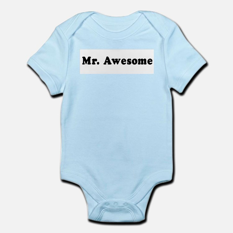 Mr. Awesome -  Infant Creeper