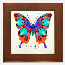 Xtreme Butterfly Framed Tile