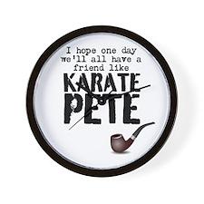karate pete Wall Clock