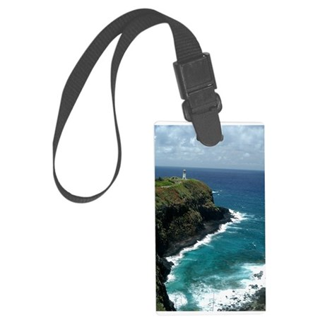Hawaii Lighthouse - Vertical.jpg Large Luggage Tag