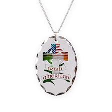 Irish American Celtic Cross Necklace